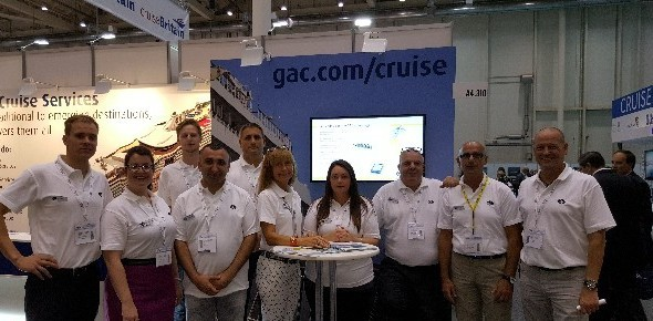 GAC team at SeaTrade Europe, Hamburg